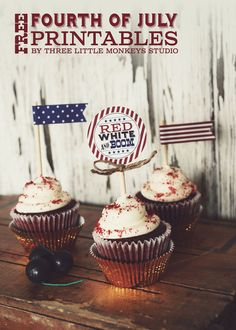 FREE Fourth of July Printables   Recipes