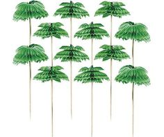 Palm Tree Party Picks - Party City - 12 for $1.99