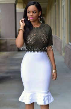 Chic Couture Online - Zuri Olive Green Lace Luxe Crop Top,  (http://www.chiccoutureonline.com/zuri-olive-green-lace-luxe-crop-top/)
