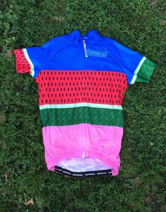 cicli lmnop watermelon jersey. Only in men's cut, sure wish there was a ladies as well