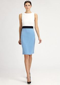 Professionelle: Colorblock Dress