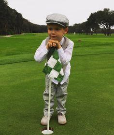 NEDC baby #300, Hudson, dreaming of golf.