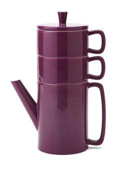 Jewel Tea for Two Set - Plum