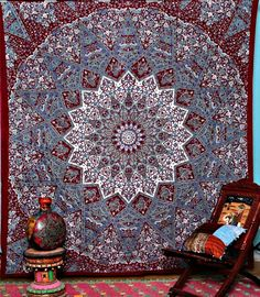 Magical Thinking Wall Bed Beach Floor Boho  Tapestry - GoGetGlam  - 1