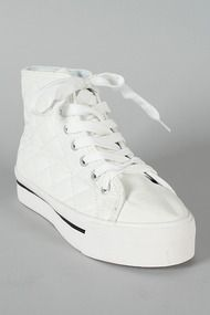 191552aed71 Wild Diva Lounge Hoyard-09 Quilted Lace Up Flatform Sneaker