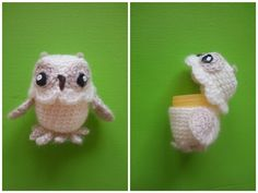 Häkelanleitungen - Häkelanleitung Eule mit Ü-Ei - ein Designerstück von meinehasenhoehle bei DaWanda Crochet Owls, Diy Crochet, Diy And Crafts, Arts And Crafts, Diy Christmas Gifts, Doll Toys, Crochet Projects, Projects To Try, Pokemon