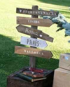 Dale a tu boda un toque rústico chic con detalles en madera [Fotos]