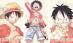 """While all of the Straw Hat Pirates have amazing strength one way or the other, three of them; the captain, the swordsman, and the chef, have such astonishingly inhuman strength that the rest of the crew dubbed them the """"Monster Trio."""""""