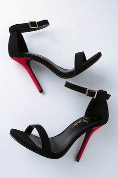 1cca4fd21d8 16 Exciting Black strap heels images in 2019