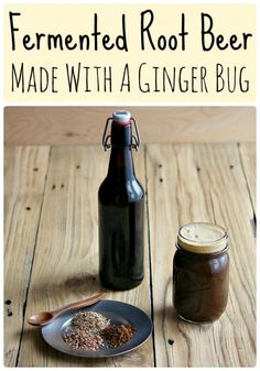 Learn how to make delicious homemade fermented root beer. Made with real roots and herb and a ginger bug for fermentation! Kombucha, Probiotic Foods, Fermented Foods, Beer Recipes, Real Food Recipes, Disney Recipes, Disney Food, Ginger Bug, Fermentation Recipes