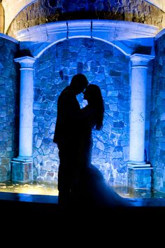 Do you think that silhouette photography is romantic? I love this shot from our August wedding at The Venetian, NJ. Photo by Tatiana Valerie, Artvesta Studio www.artvestastudio.com #romantic #silhouettephotography #creative