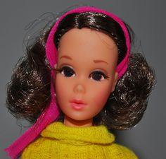 Walking Jamie Chocolate Bon Bon Barbie Brunette VGC  1132 Vintage Barbie Doll  #Dolls