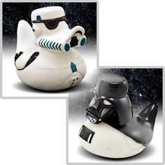 Star Wars rubber duckies.