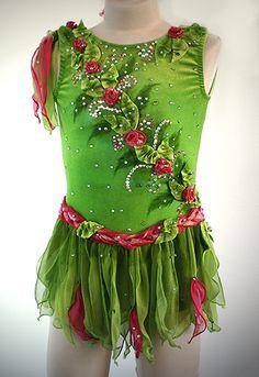 Fairy themed figure skating dress. LOVE IT!!!!!!!!!