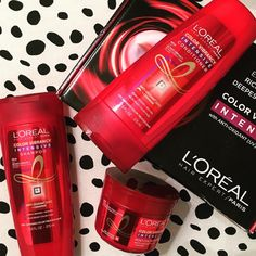 Starting my #Friday With @lorealhair thanks to @influenster! Excited to give my dry locks a little intensive repair!!! #colorvibrancyintensive #lorealhair