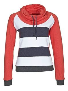 Buy Color Block Striped Drawstring Hoodie online with cheap prices and discover fashion Hoodies at Fashionmia.com.