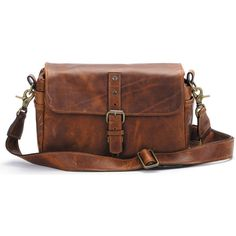 ONA The Bowery Camera Bag Antique Cognac Leather