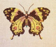Gold Butterfly, designed by Nora Corbett, Mirabilia Designs.