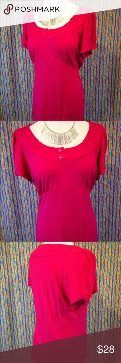 Banana republic large pink blouse 👚 This large banana republic blouse is in excellent used condition. Well taken care of. Please see photos. Please ask any questions before purchasing. Banana Republic Tops Blouses