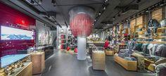 Victorinox, Flagship Store, Zurich, 2014   MACH ARCHITEKTUR GMBH