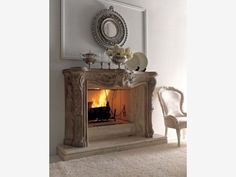 Classic Wall Fireplace Design for Luxury Living Room Decorating Idea : classic fireplace decor idea. Italian Fireplace, Home Fireplace, Fireplace Design, Classic Living Room, Classic Living Room Design, Fireplace Decor, House Interior, Cozy Fireplace, Classic Fireplace