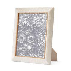 Aerin - Ivory Linen Wood Frame, 8x10