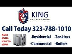 We are the Authority when it comes to water heaters, we can save you time and money. King Water Heaters understands that your time is valuable.
