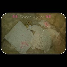 Crochet blanket and sweater and beret hat hat #crochetwithlove #girlswagg #handmadewithlove #accessoriesforbaby #crochetaddict #princess #babyshowergift #babygift #handmade #infanthat #infantgirl #girlthing #yarn #yarnporn #crochets #crochetlove #crochetsweater #crochetblanket #babybling by sewcrazyme