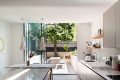 This house extension and refurbishment in Highbury, North London transforms a Victorian terraced house in a conservation area. The brief was to create open plan spaces with an improved relationship to the garden, and a kitchen that could be enjoyed as a social space. The original...