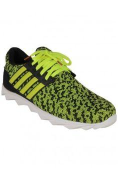 Men-FLEX-FURY-Green-Casual-Sneakers