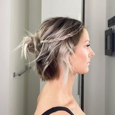 25 Easy Hairstyles for Short Hair with Quick Video Tutorials