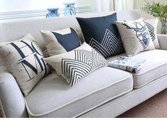 2016 new black white Deer pillow ,Nordic geometric Pillow cushion ,Linen pillowcase,sofa cushions home decorative Pillows - UrbanLifeShop