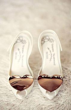 Vivienne Westwood - Melissa Heart Shoes