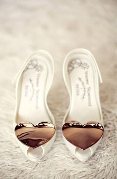 Vivienne Westwood - Melissa Heart Shoes