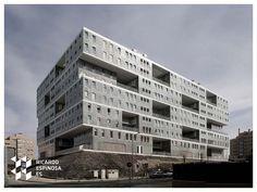 Edificio Celosía MVRDV with Blanca Lleó complete Celosia Residence, Madrid