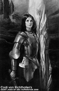 Joan of Arc - From 'The France of Joan of Arc' by Andrew C.P. Haggard - John Lane Company, 1912 by Saint Joan of Arc Superstar™, via Flickr