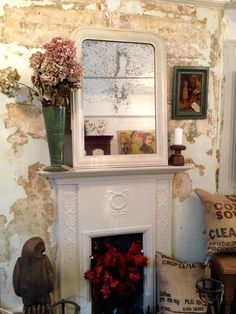 Decor, Interior, Eclectic, Home Decor, Individual Space, Shop Interiors, Fireplace