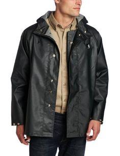 Carhartt Mens Lightweight Pvc Rain Coat Green X Large At Http