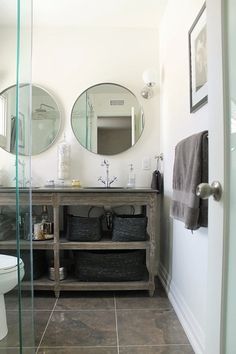 Vintage Bathroom Before After Remodeling Diary Series Vintage - Quick bathroom renovation