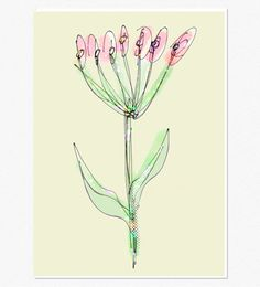 Flower Art Print Digital Download