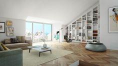 interior architectural visualization