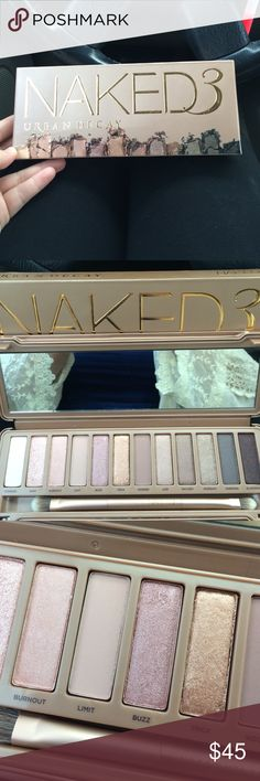 Urban Decay Naked 3 Palatte Brand new, never used Urban Decay Makeup Eyeshadow