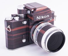 Nikon F2D: A Homemade Digital Nikon F2 Replica Crafted Out of Wood #nikon
