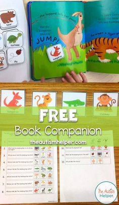 The Very Lazy Ladybug with Free Book Companion - The Autism Helper Speech Therapy Activities, Speech Language Therapy, Language Activities, Teaching Activities, Speech And Language, Communication Activities, Communication Boards, Autism Activities, Sorting Activities