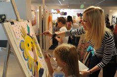 """Открытый урок для детей в студии «S*T*ART», галерея """"Паршин"""""""
