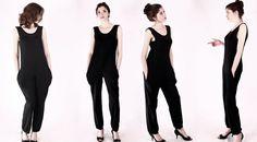 Overalls & Jumpsuits - NARA® Overall Jumpsuit  - ein Designerstück von Berlinerfashion bei DaWanda