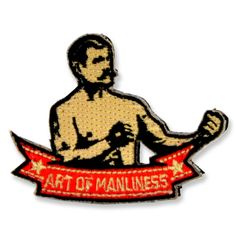 Show you're an Art of Manliness Man amongst the men in your platoon or out on the range with the John L. Sullivan embroidered morale patch. Features John L. in his famous bare-knuckled boxing pose rea
