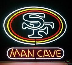 Man Cave San Francisco 49ers Neon Sign NFL Teams Neon Light
