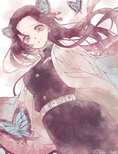Demon Slayer: Kimetsu No Yaiba manga online Manga Anime, Anime Demon, Demon Slayer, Slayer Anime, Kawaii Anime, Demon Hunter, Anime Art Girl, Anime Characters, Animation