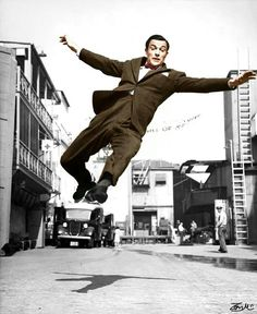 Gene Kelly in colour